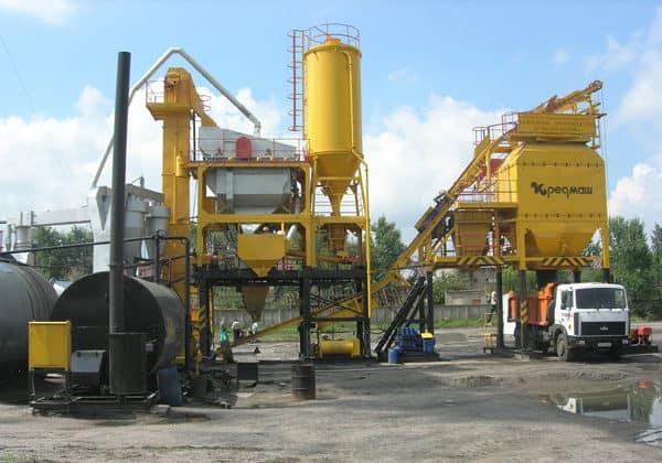 Мини-завод для производства асфальта