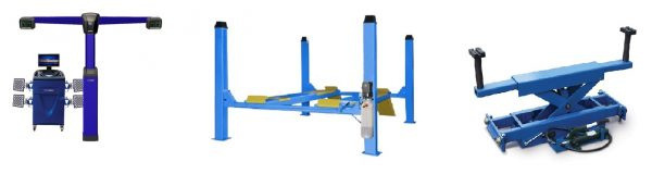 Оборудование для 3D развал схождения - стенд, подъемник и траверс