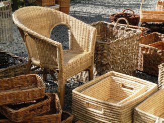 Плетение из лозы - плетеная мебель и корзины