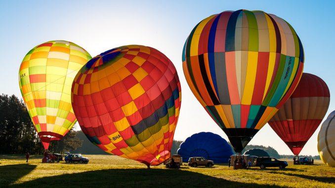 Полеты на воздушных шарах (монгольфьерах)