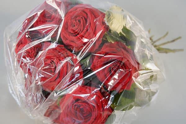 Цветы в PLA-пленке