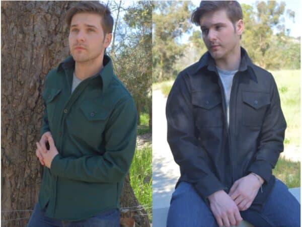 Фланелевые куртки-рубашки