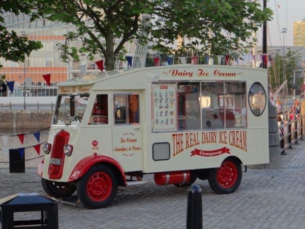Фургон для продажи мороженого