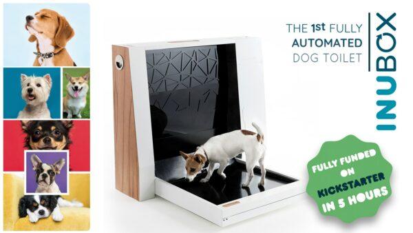 Автоматический туалет для собак Inubox