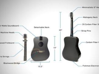 KLOS - Гитара из углеродного волокна