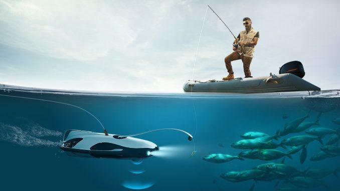 Подводный дрон Powervision