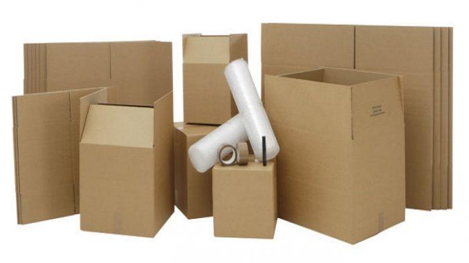 Производство картонной упаковки - коробок из гофрокартона