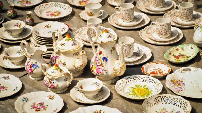 Производство посуды из керамики