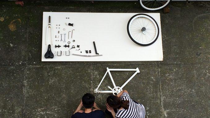 Как собирают велосипеды и делают их
