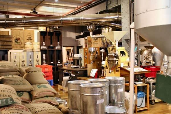 Производство цернового кофе