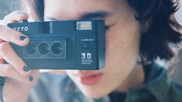 Фотоаппарат reto3d для 3D-фото
