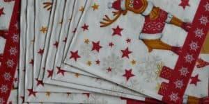 Рождественские салфетки