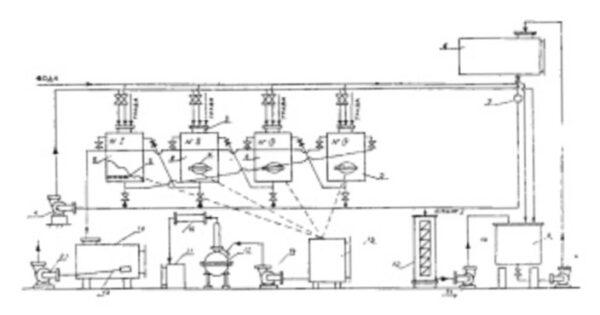 Схема приготовления спиртового настоя тархуна
