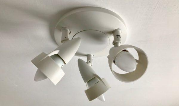 Полимерный потолочный светильник из Ikea